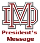 president's  message logo