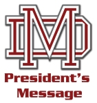 president's  message logo