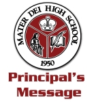 principal's  message logo