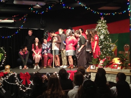 Proceeds from the Improv Comedy Chuckles for Charity Christmas Show was donated to Monarch 4 Marines.
