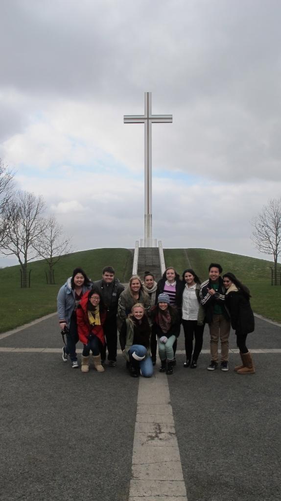 MUN Ireland Trip - Cross on Phoenix Park