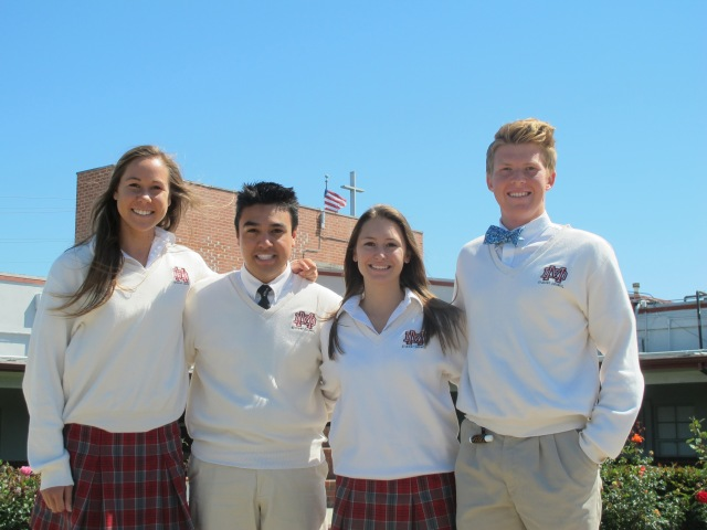 2013-2014 Senior Class Officers Treasurer - Ashlyn Rambo President - Derek Rodriguez Secretary - Gina Cabibbo Vice-President - Liam Finck