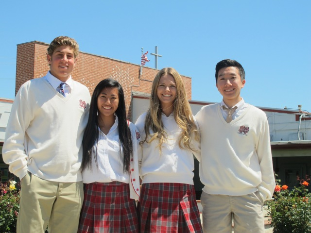 2013-2014 Junior Class Officers President - Peter Seidner Secretary - Justine Salas-Mationg Vice President - Julia DiCambio Treasurer - Andrew Nguyen