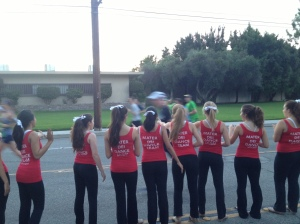 MDHS Dance Team performed and cheered on the participants at Disney Half-Marathon