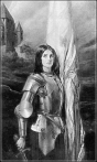 Sophomore Class President Jordan Kessler will perform as Joan of Arc in the upcoming Project: Discourse event