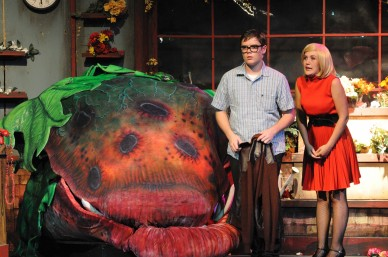 The All-School Musical this year was Little Shop of Horrors, students will perform a song from it at the Information Night Event