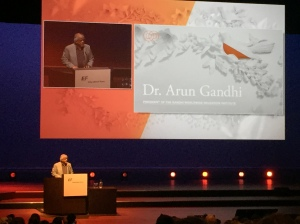 Keynote Speaker, Dr. Arun Gandhi, grandson of Mahatma Gandhi